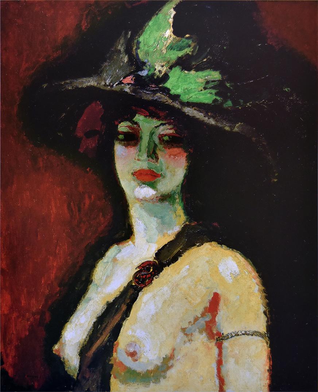 Kees van Dongen,  Femme au grand chapeau (Woman With a Large Hat) , 1906, Galerie Daniel Malingue.