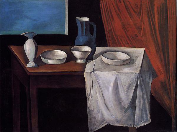 André Derain,  La Table (The Table) , 1911, Metropolitan Museum of Art, New York.