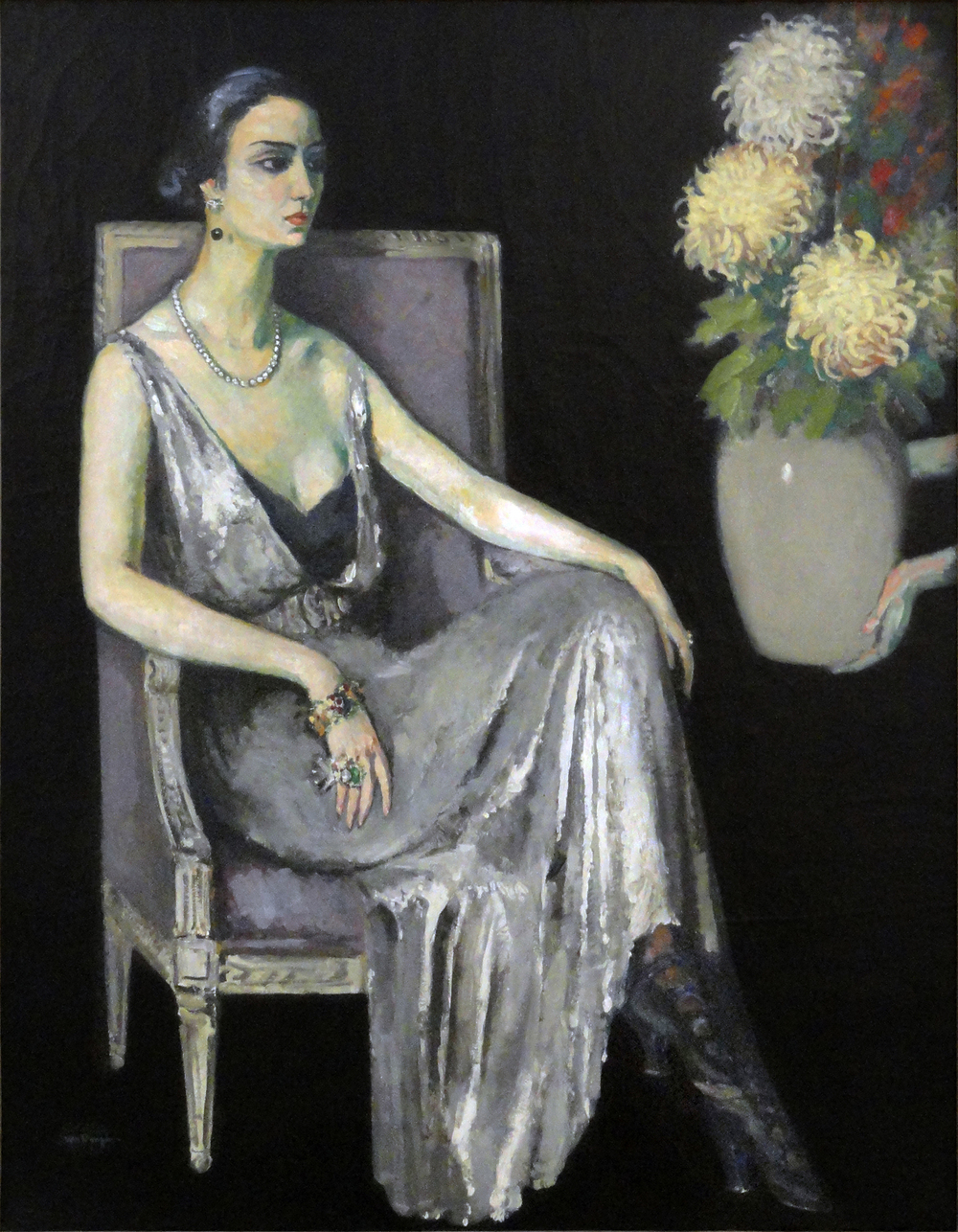 Kees van Dongen,  Le sphinx , 1920, Musée d'Art Moderne de la Ville de Paris.