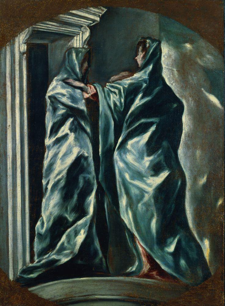 El Greco,  The Visitation , 1610-13, Dumbarton Oaks, Washington, DC.