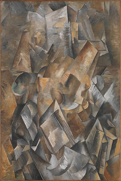 Georges Braque, Still Life with Metronome, 1909, Metropolitan Museum of Art, New York.