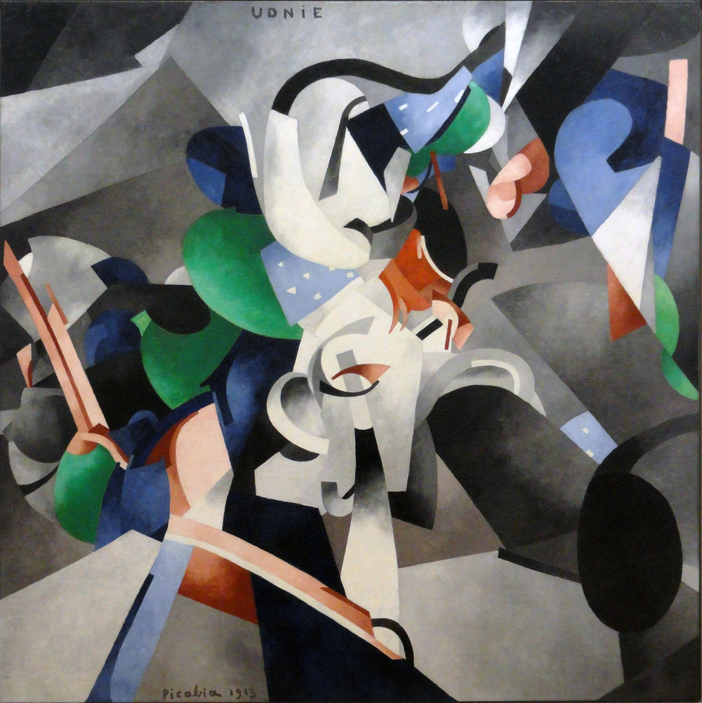 Francis Picabia, Young American Girl, The Dance, 1913, Musée National d'Art Moderne, Centre Georges Pompidou, Paris.