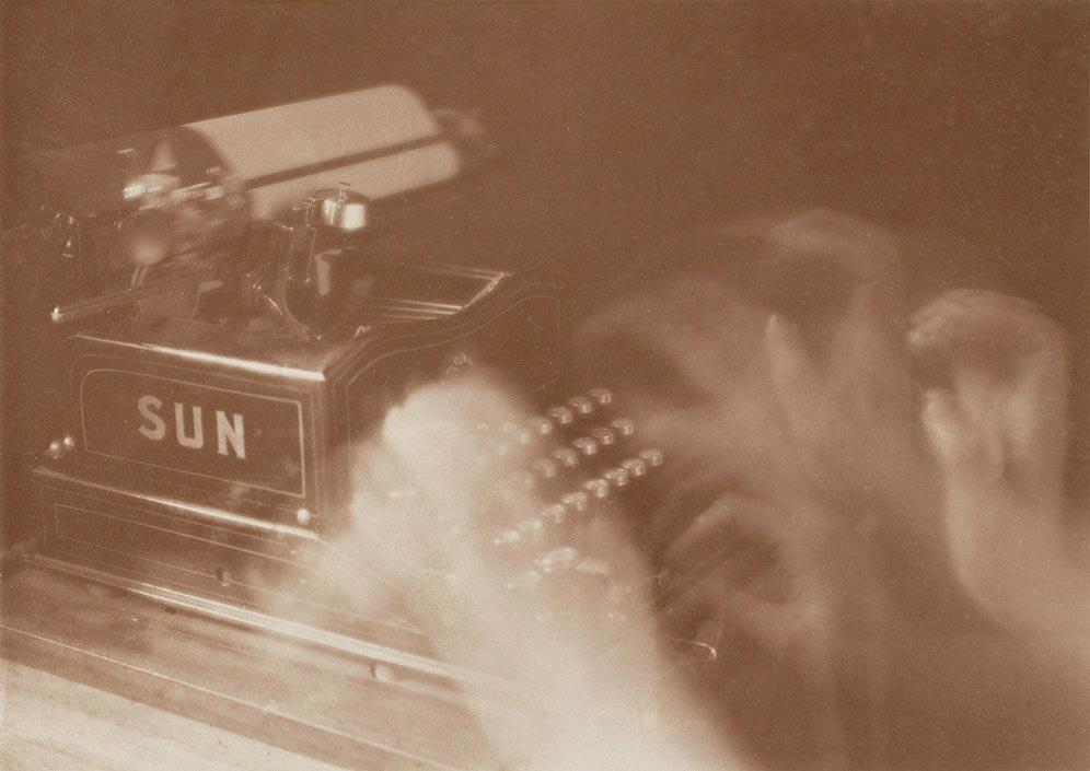 Anton Giulio Bragaglia,  The Typist , 1911, The Metropolitan Museum of Art, New York.
