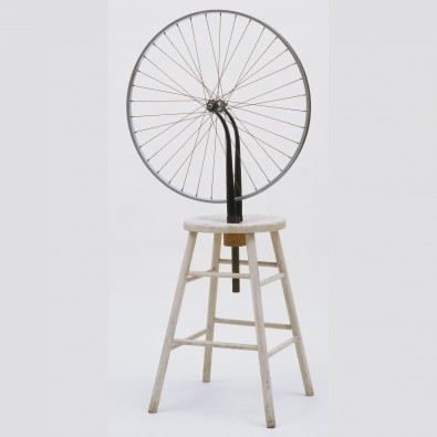 Marcel Duchamp, Bicycle Wheel, 1951 (Reconstruction), Museum of Modern Art, New York.