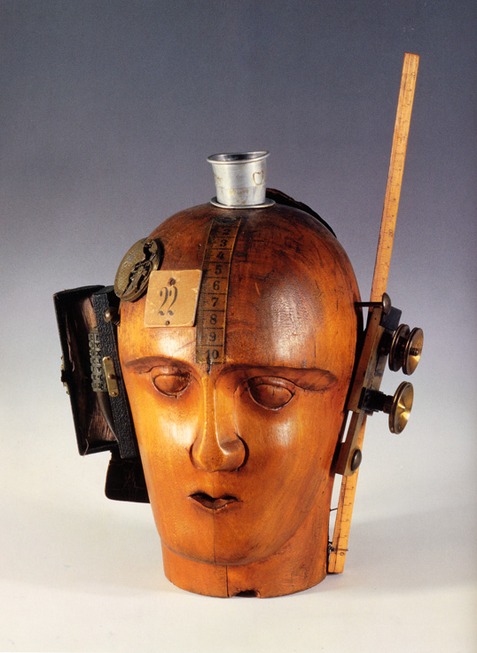 Raoul Hausmann, Mechanical Head (The Spirit of Our Age), c. 1920, National Museum of Art, Washington DC.
