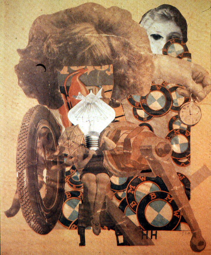 Hannah Hoch, Pretty Maiden, 1920, Private Collection.