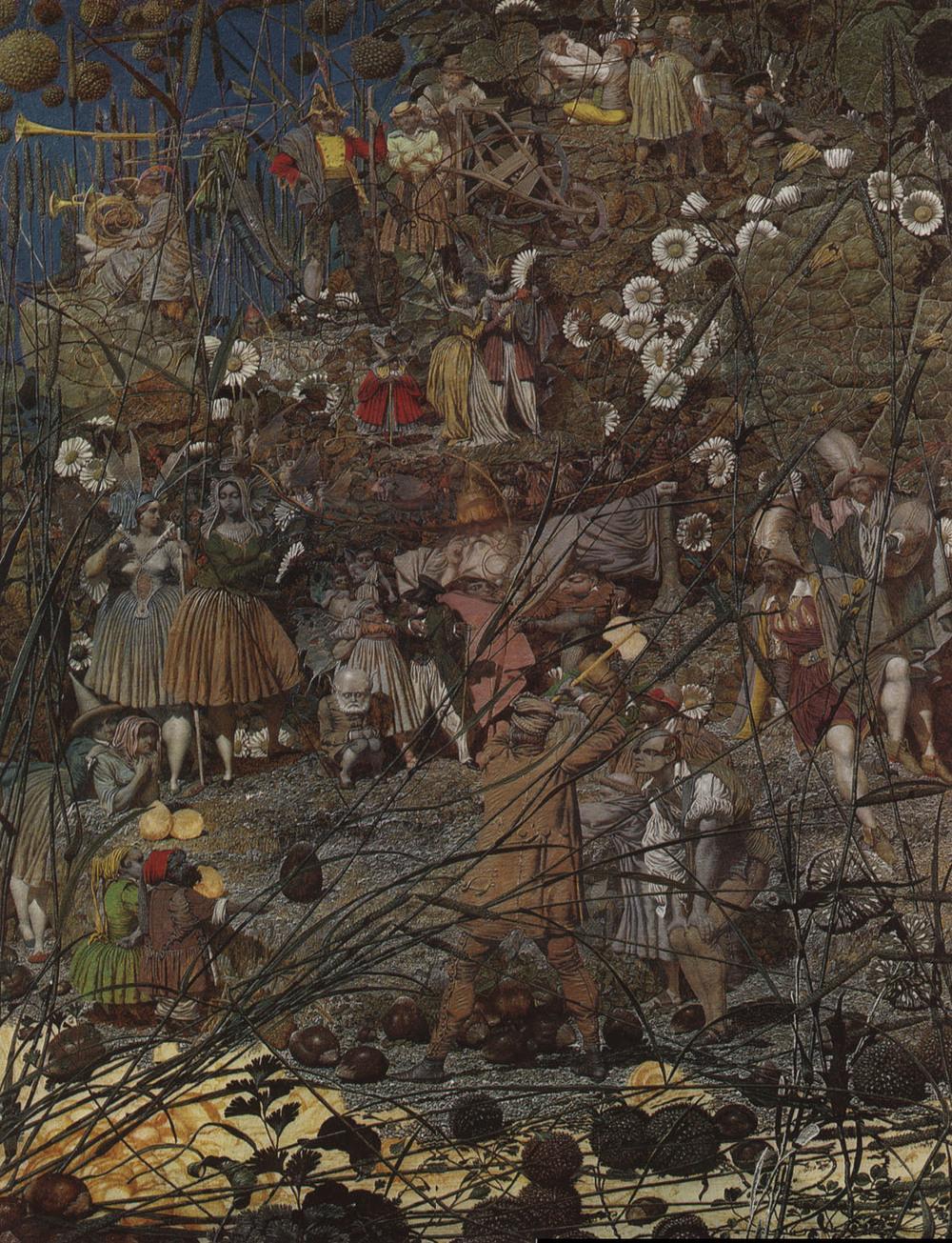 Richard Dadd,  The Fairy Feller's Master-Strok  e , 1855–64, Tate Gallery, London.