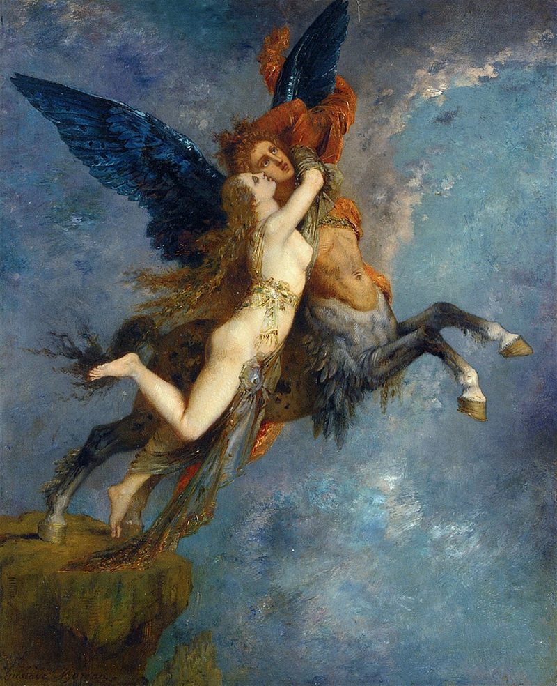 Gustave Moreau, The Chimera, 1867, Fogg Art Museum, Harvard.