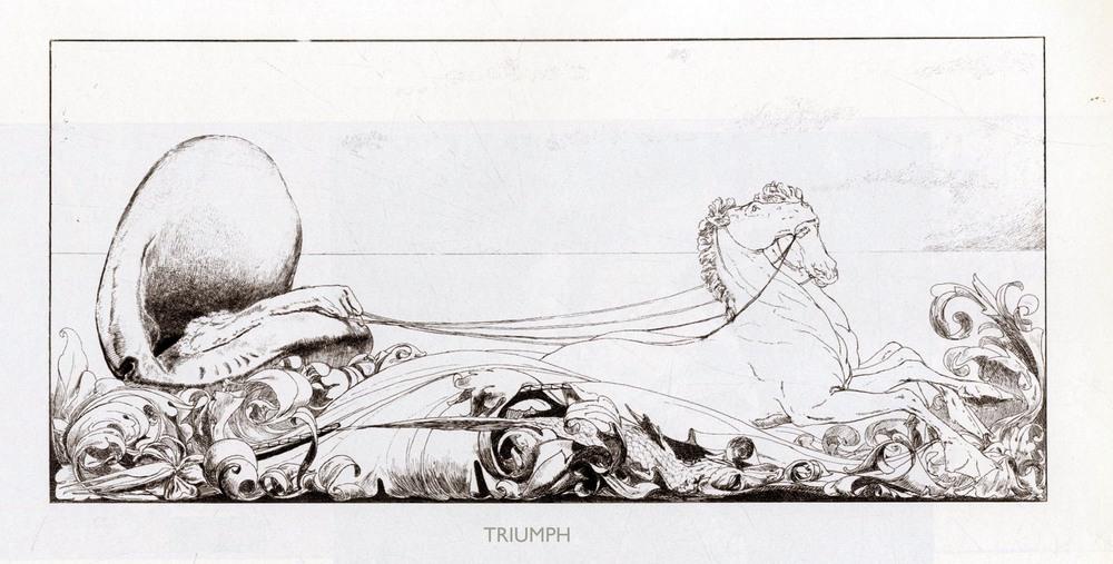 Max Klinger,  A Glove: Triumph , 1881.
