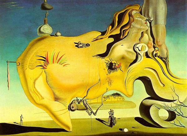 Salvador Dalí,  The Great Masturbator , 1929, Reina Sofía, Madrid.