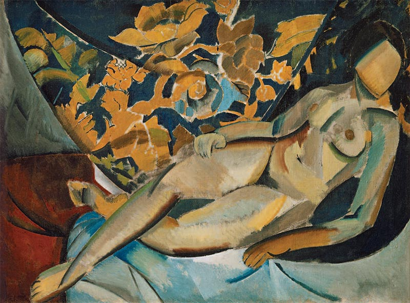 Vladimir Tatlin, Lying Model, 1912, Russian State Archive of Literature and Art.
