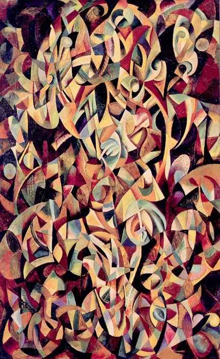 Alexander Rodchenko,  Dance. An Objectless Composition , 1915.