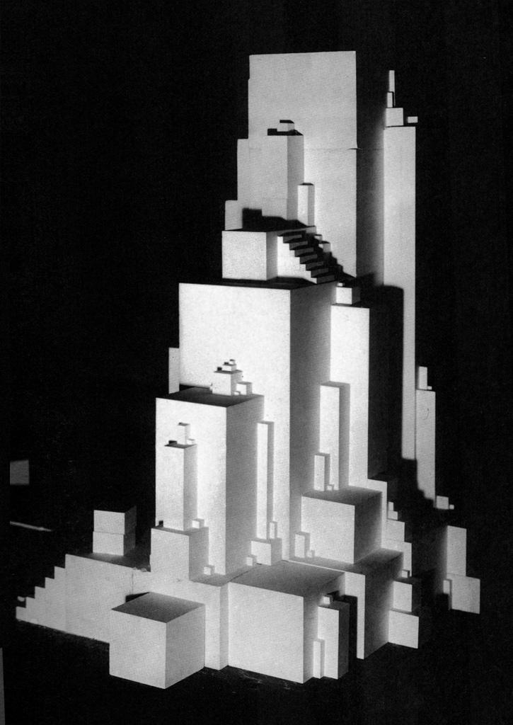 Kazimir Malevich,  Architekton Zeta , 1926.