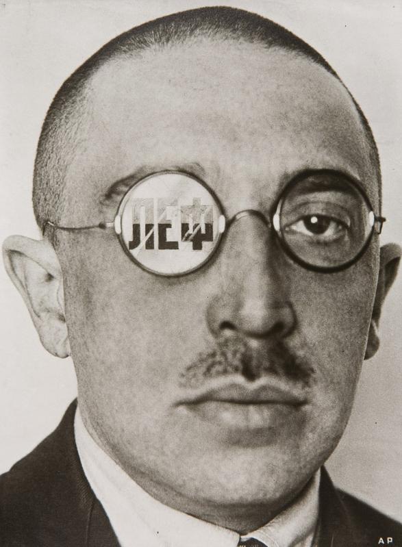 Alexander Rodchenko,  The Critic, Osip Brik , 1924.