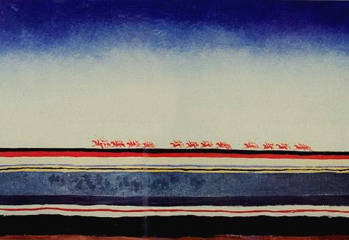 Kazimir Malevich,  Red-cavalry , 1928-1932.