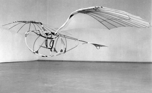 Vladimir Tatlin,  Letatlin , 1929-32, reconstruction of Jürgen Steger, 1991, Zeppelin Museum Friedrichshafen.