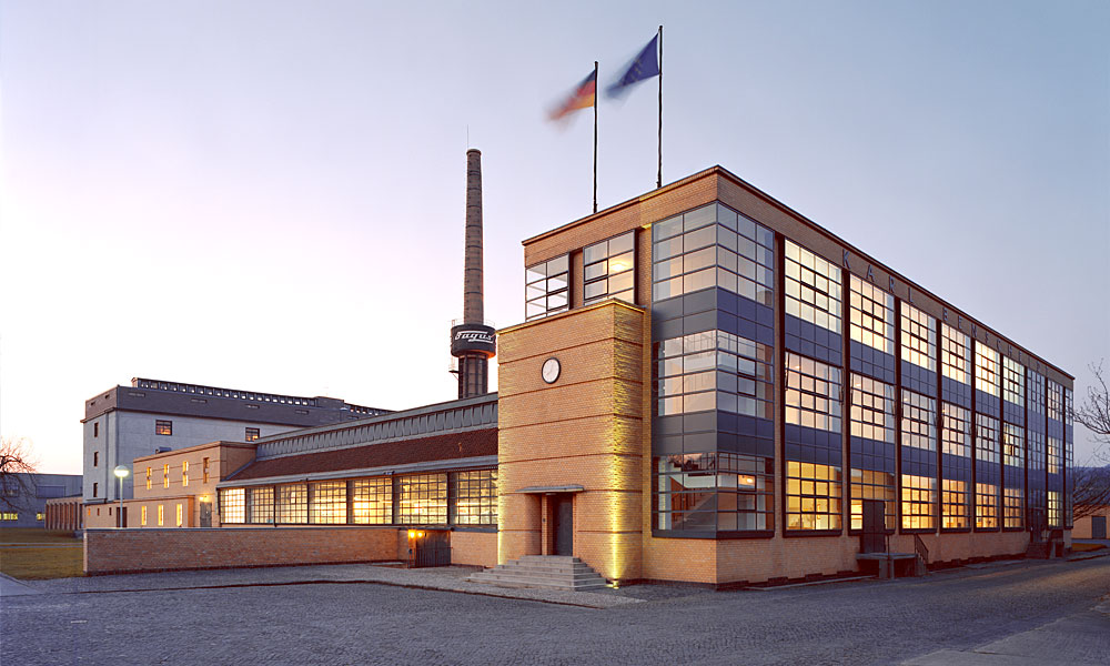 Walter Gropius,  Fagus Factory , 1925, Alfeld, Germany.