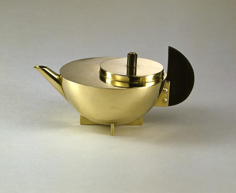 Marianne Brandt,  Tea infuser (MT 49) , 1924.