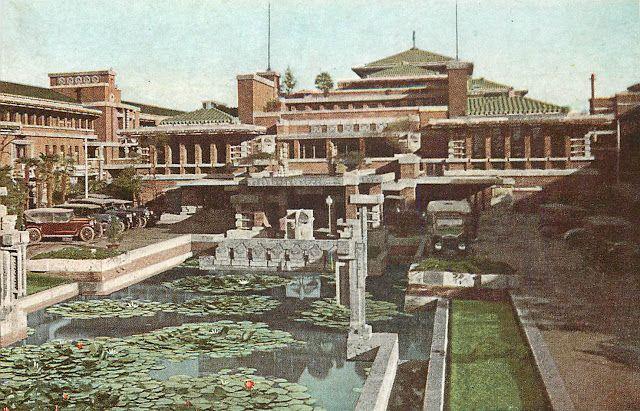 Frank Lloyd Wright,  Imperial Hotel , 1923, Tokyo.