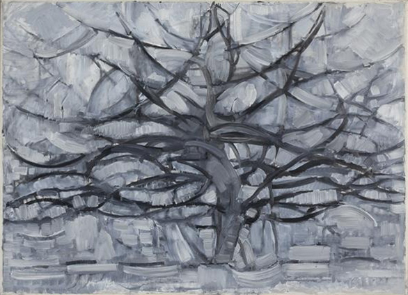 Piet Mondrian,  Gray Tree,  1912, Municipal Museum, The Hague.