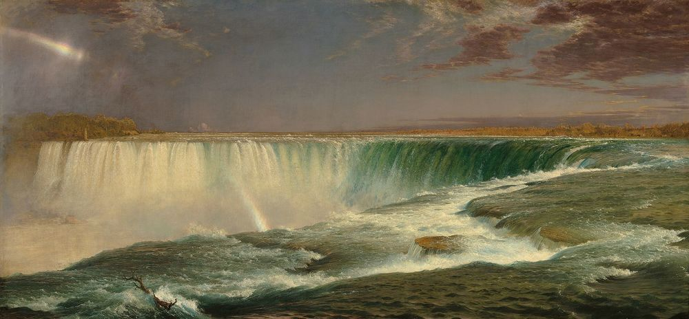 Frederic Church,  Niagara Falls , 1857, National Gallery of Art, Washington, DC.