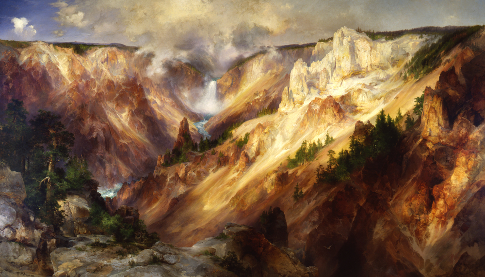 Thomas Moran, The Grand Canyon of the Yellowstone, 1893-1901, Smithsonian American Art Museum.