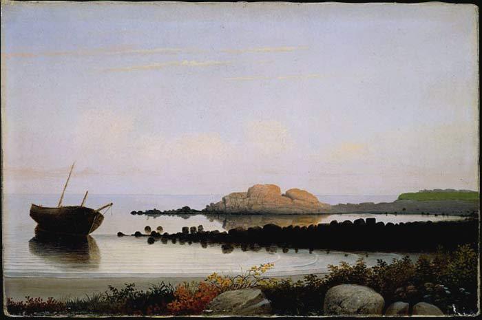 Fitzhugh Lane,  Brace's Rock , Eastern Point, Gloucester, c.1864, National Gallery of Art, Washington, DC.