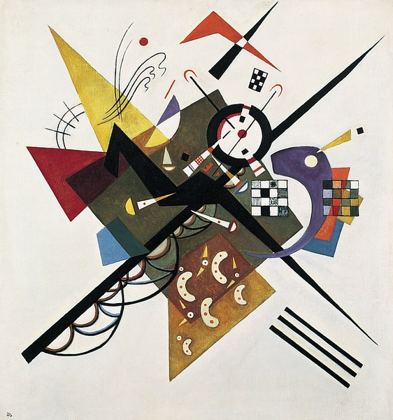 Wassily Kandinsky, On White II, 1923, Centre Georges Pompidou, Paris.