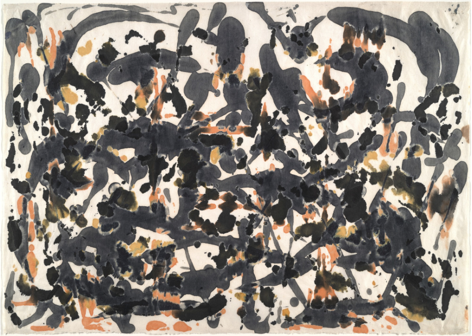 Jackson Pollock,  Untitled , c.1951, Museum of Modern Art, New York.