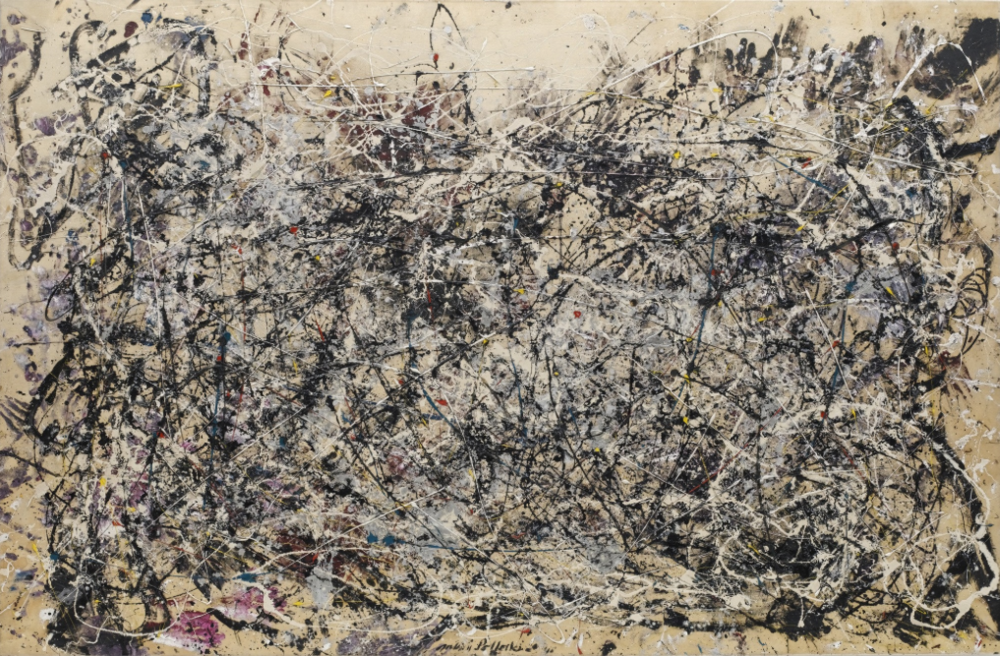 Jackson Pollock, Number 1A, 1948, Museum of Modern Art, New York.
