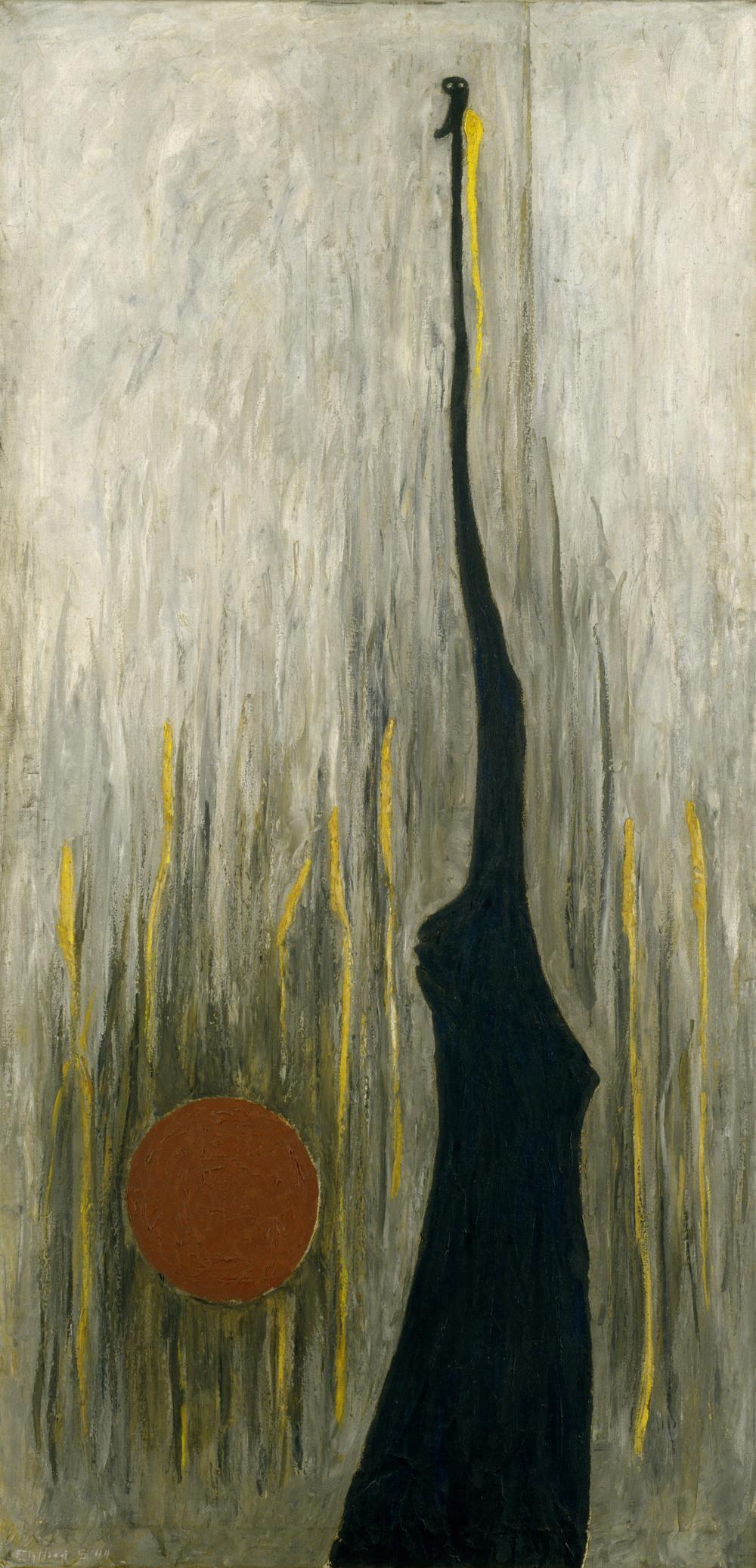 Clyfford Still,  Jamais , 1944, Peggy Guggenhein Museum, Venice.