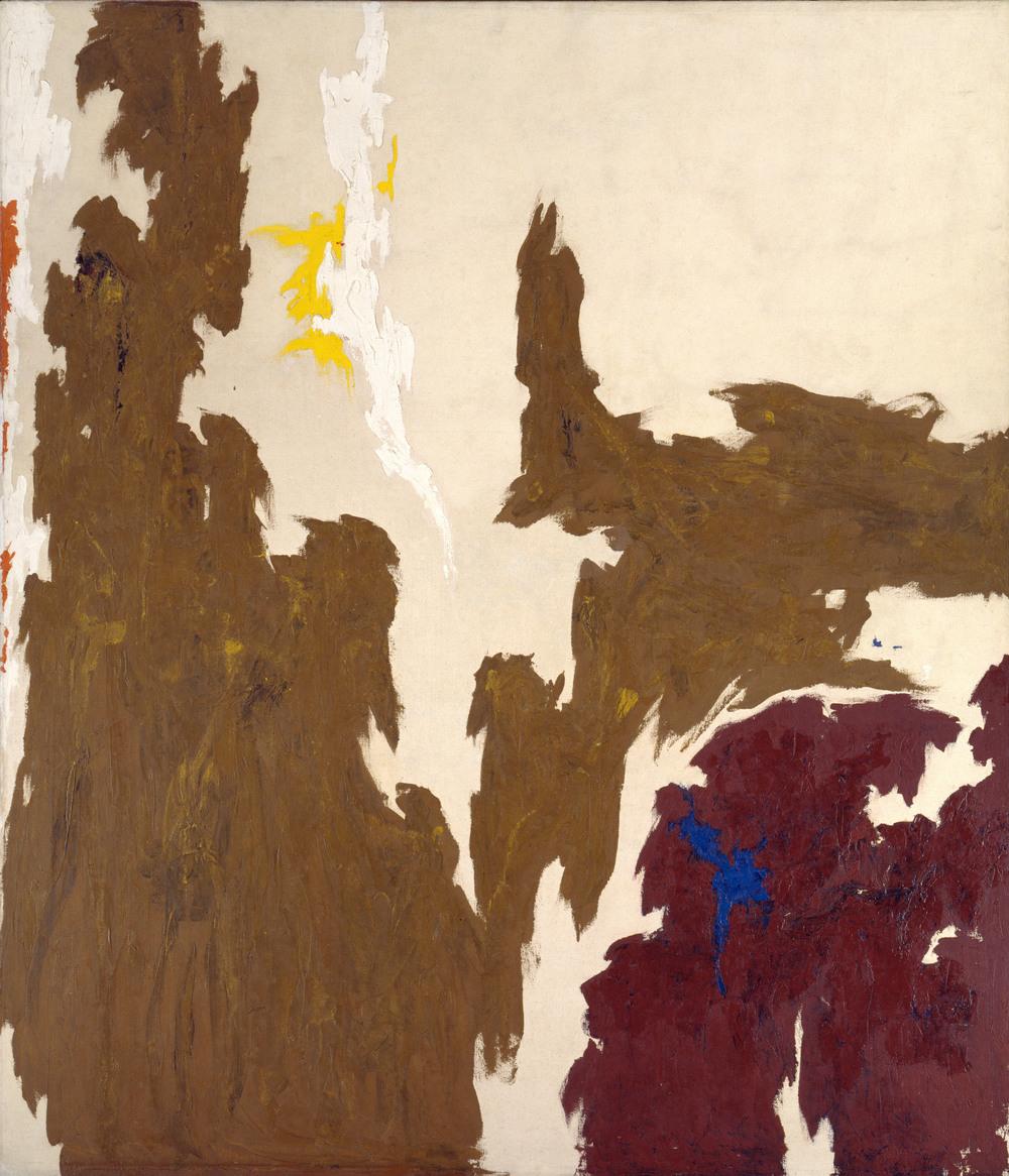 Clyfford Still,  1948 , 1948, Solomon R. Guggenheim Museum, New York.