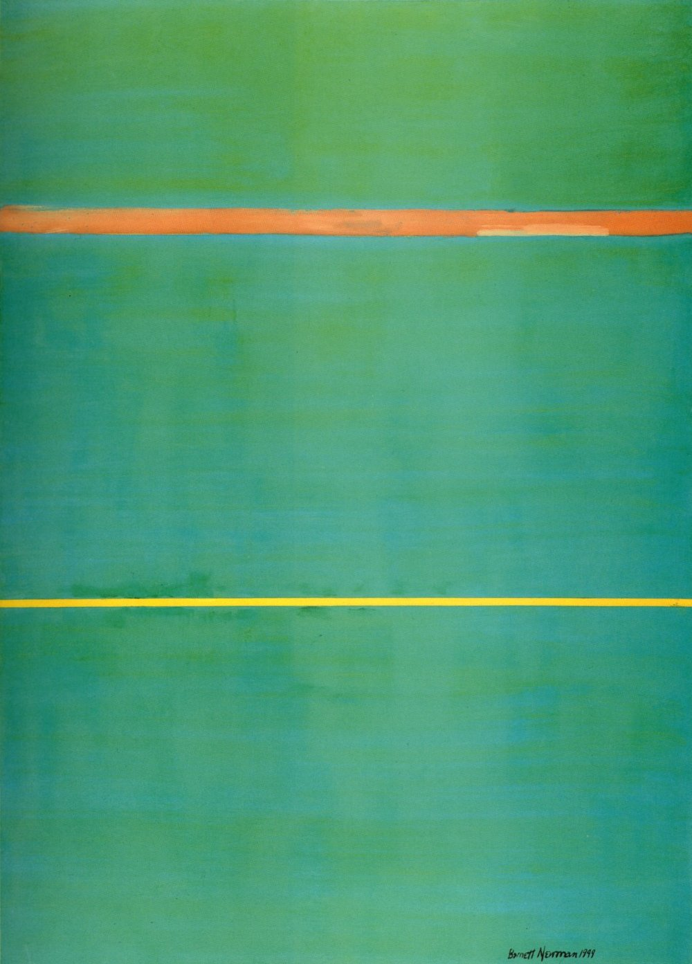 Barnett Newman,  Dionysius , 1949, National Gallery of Art, Washington DC.