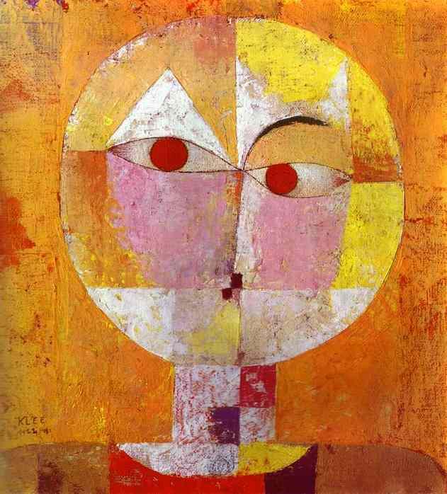 Paul Klee,  Senecio , 1922, Kunstmuseum,Basel.