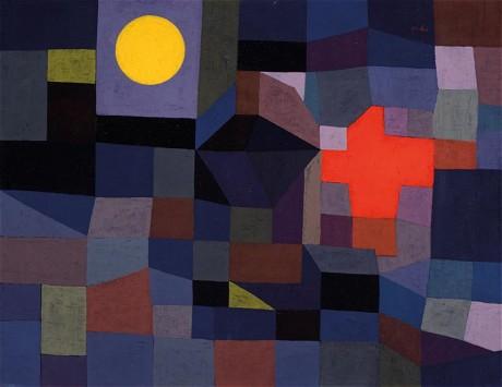 Paul Klee,  Fire at Full Moon , 1933, Metropolitan Museum of Art, New York.