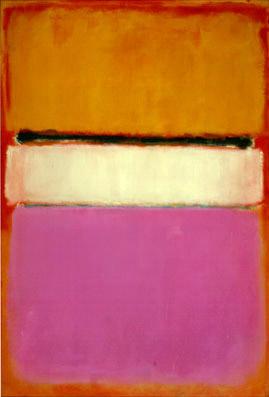 Mark Rothko,  White Center , 1950, Private Collection.