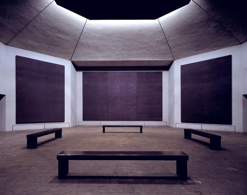 Mark Rothko,  Rothko Chapel , 1971, Houston.