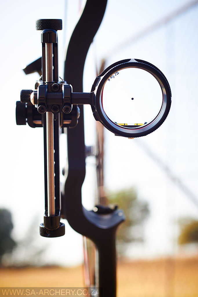 Scope with Dot on a 6X Lens