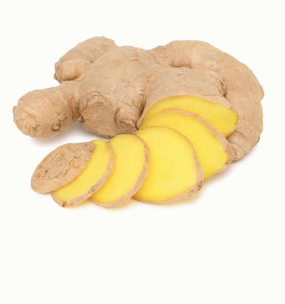 Ginger is a powerful treatment for nausea, morning sickness, and motion sickness.