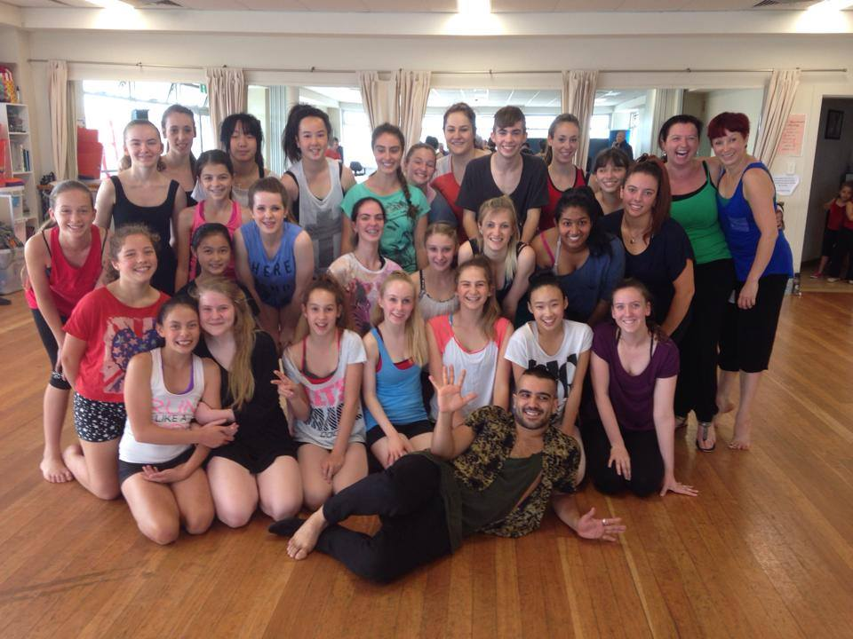 Workshop with the very talented and AMAZING Mr Stephen Tannos.