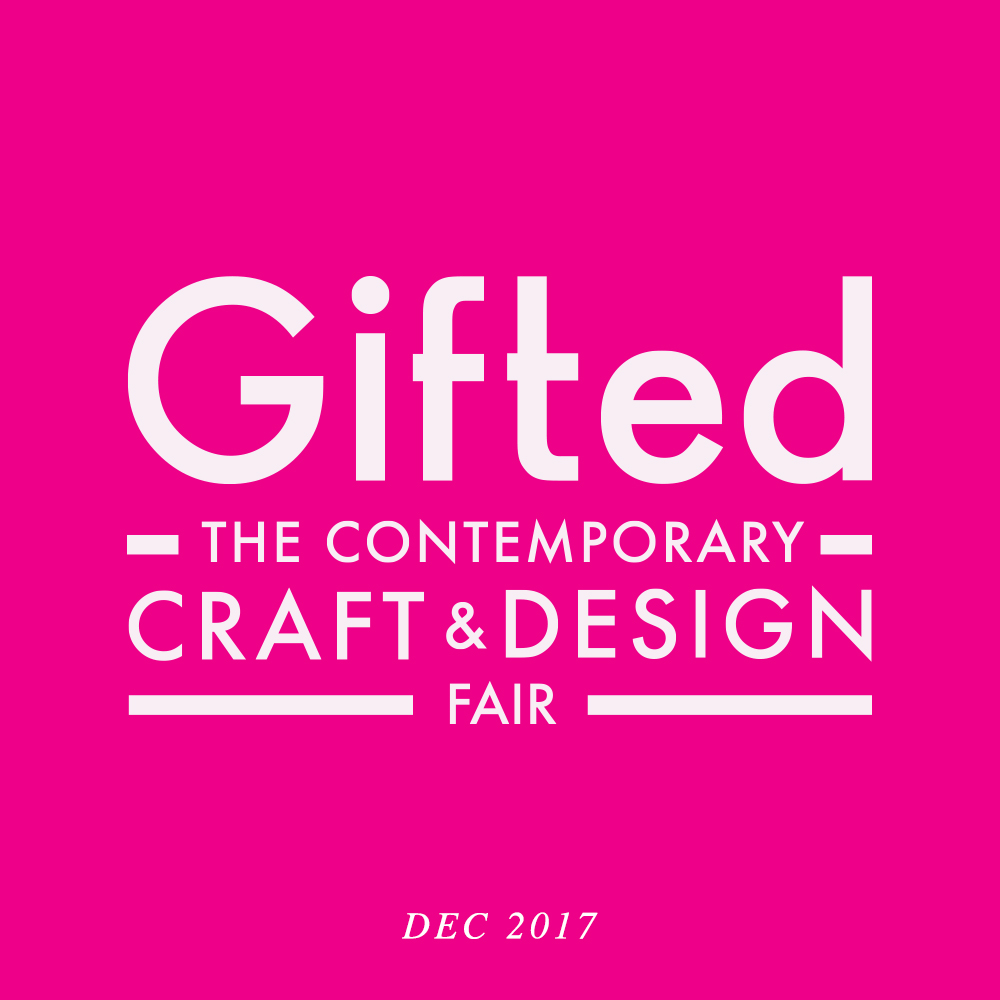 Visit us at Gifted Craft & Design Fair from Dec 5th - 10th in the RDS. Find us as Stand 155 in the main hall.