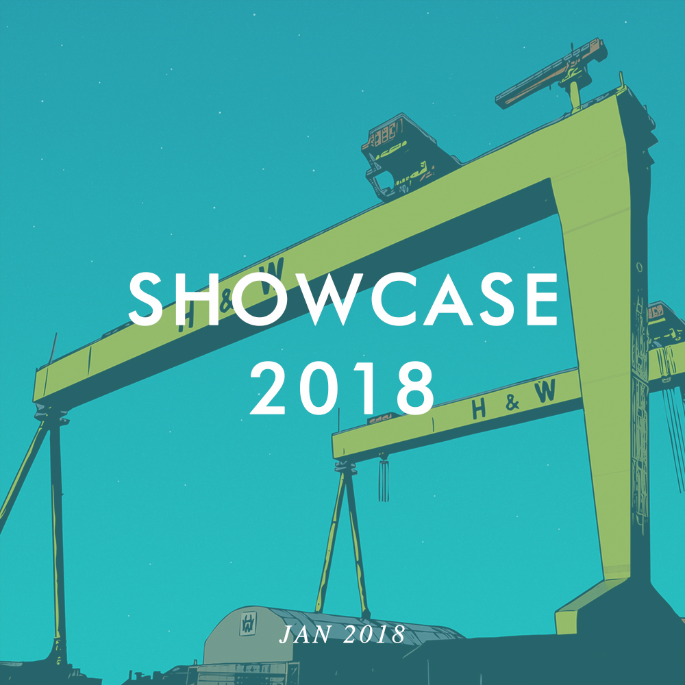Come visit us at Showcase 2018 in the RDS from Jan 21st to Jan 24th