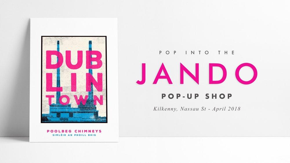 JANDO KK POP UP - TWITTER ANNOUNCEMENT DT POOLBEG.JPG