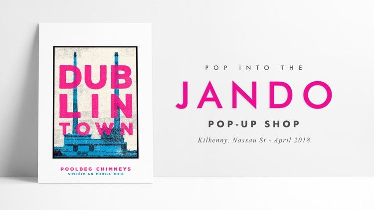 Jando pop up shop in kilkenny nassau st jando reheart Images