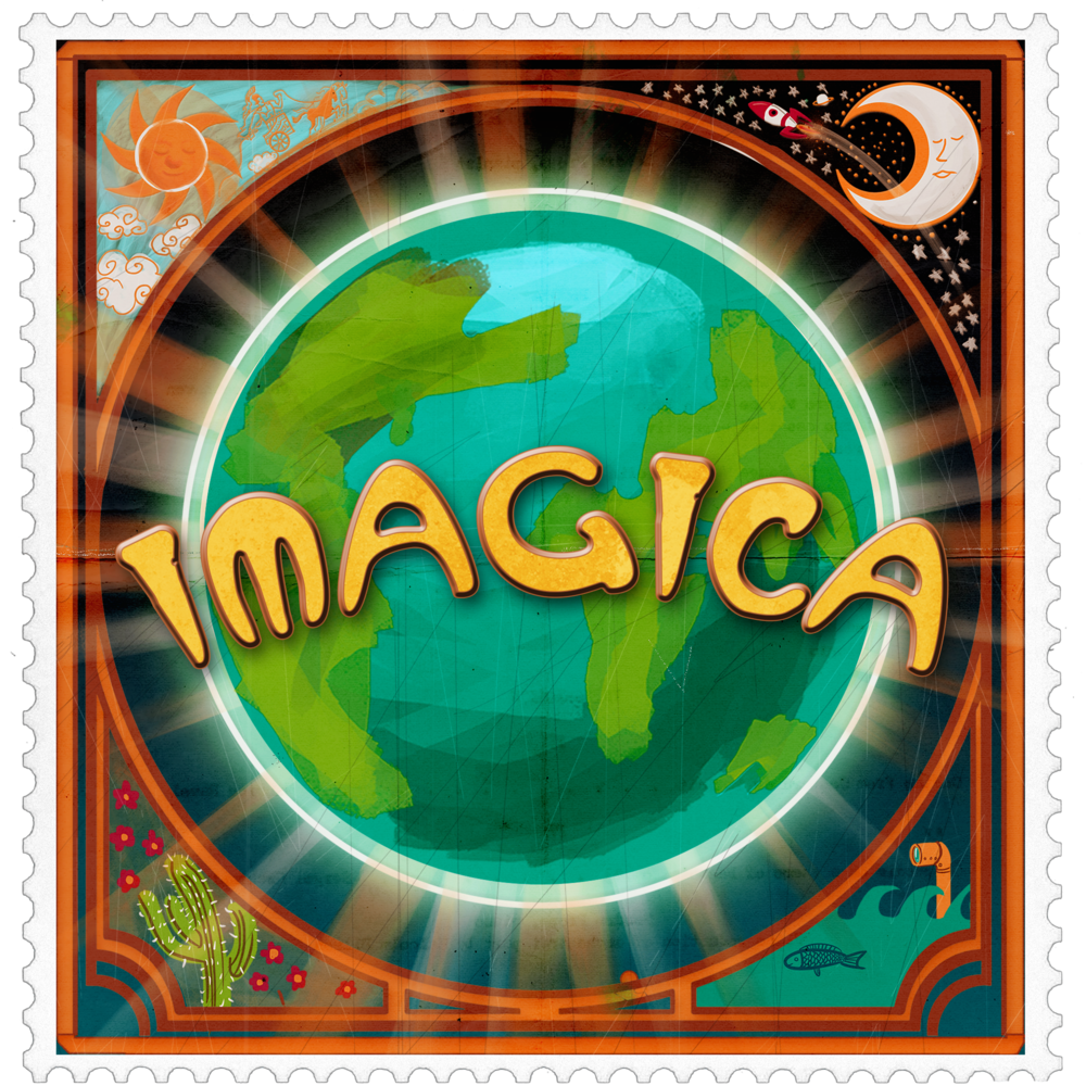 Logo design for team Imagica.