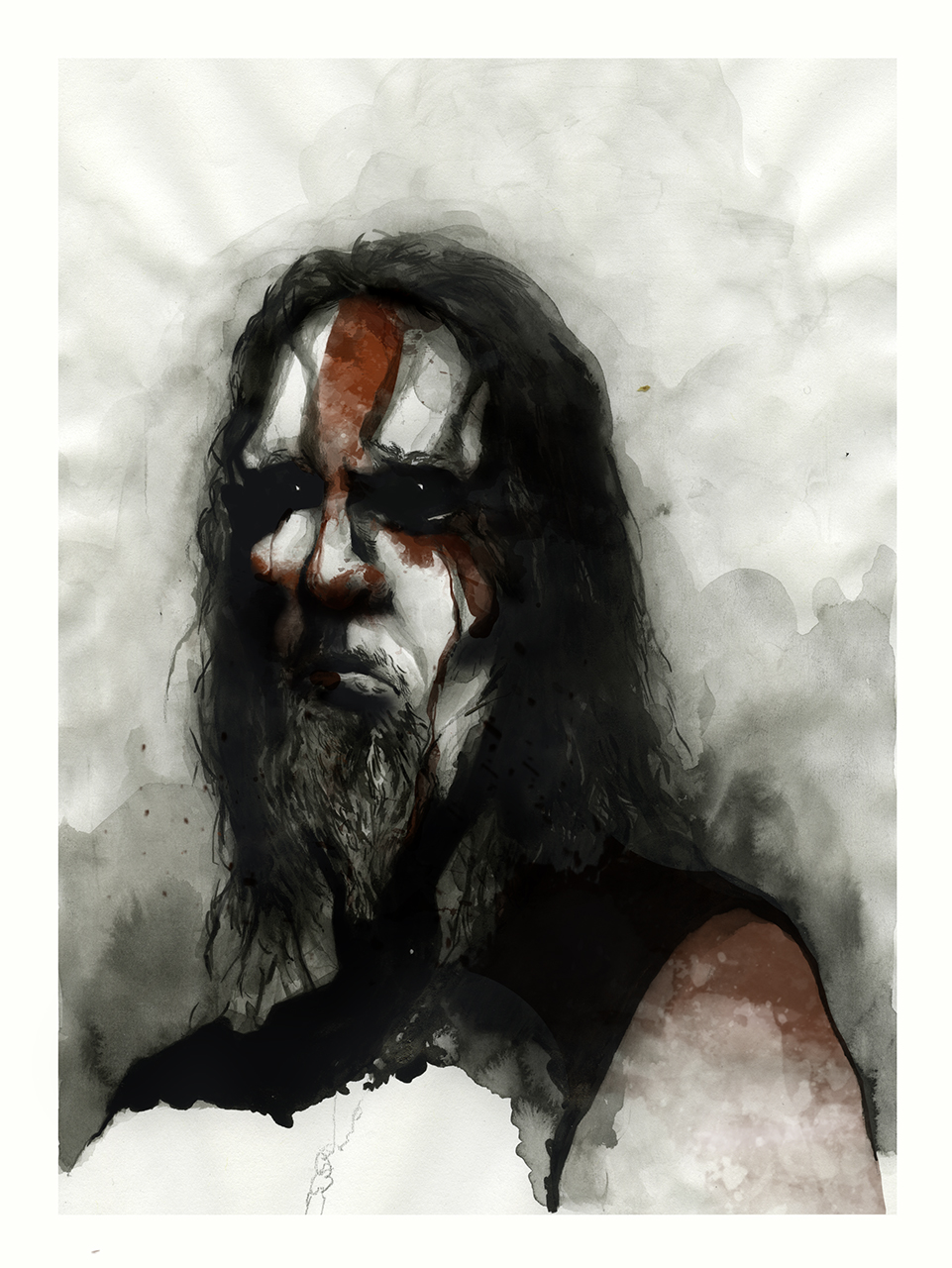 Gaahl, from the band Gorgoroth