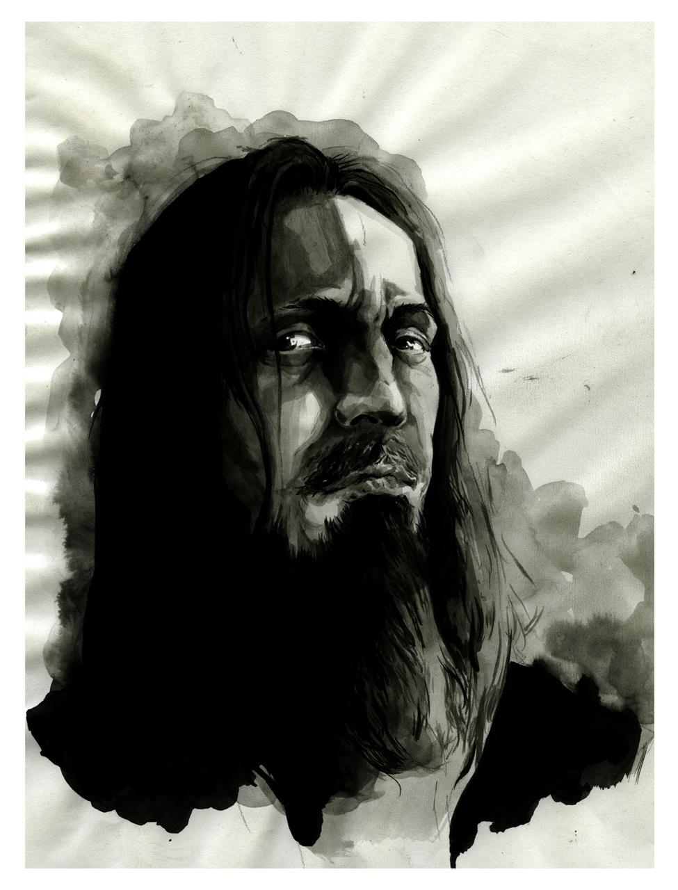 Fenriz, from Darkthrone