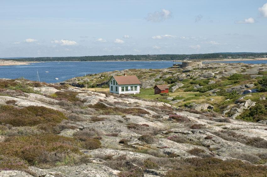 Kystledhytta på Akerøya. Foto: Oslofjordens Friluftsråd