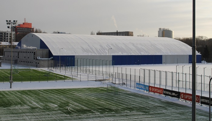 A.LeCoq football complex indoor hall (opened in November 2013, Jalgpall.ee)