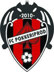 FC PokkeriProd logo inspired by Spanish club Levante U.D. (FCPP Facebook page)